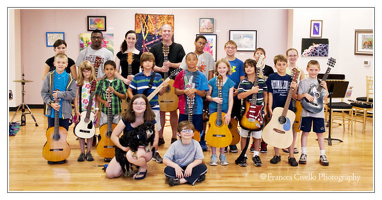 Beginner Guitar Camp with Mark Wesling