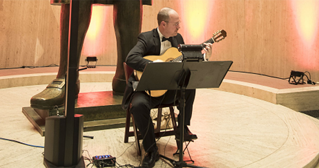 Mark Wesling plays event at PA State Capitol